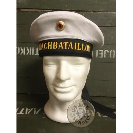 """GERMAN NAVY SAILOR HAT """"WATCHBATALLION"""" USED SUPER GRADE1 CONDITION"""