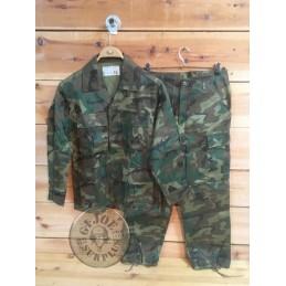 SPANISH MARINE CORPS WOODLAND CAMO UNIFORM SET BRAND NEW