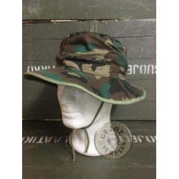 SELLING AT STORE!!! SPANISH NAVY MARINES JUNGLE HAT WOODLAND CAMO NEW