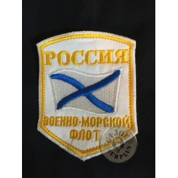 RUSSIAN NAVY SHOULDER PATCH