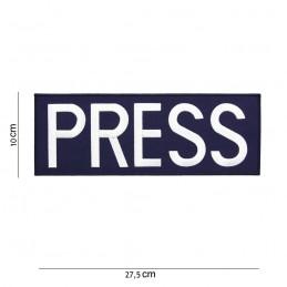 """PARCHE BORDADO """"PRESS-PRENSA"""""""