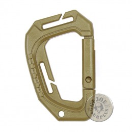 ABS PLASTIC MOLLE CARABINER