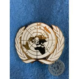 UNITED NATIONS BERET BADGE