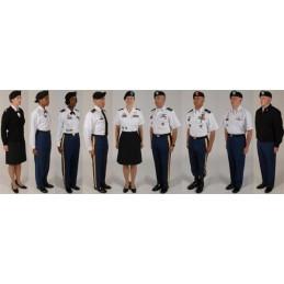 "US ARMY EPAULETTES ""CAPORAL"" BLACK COLOUR NEW"