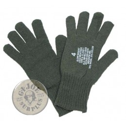 US ARMY OLIVE GREEN GLOVES...