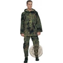 "GERMAN ARMY ""GORETEX"" PARKA  FLECKTARN CAMO USED GREAT CONDITION"