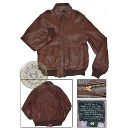 SOLD!!! A2 LEATHER JACKET...