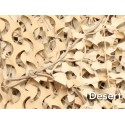 "RED 50% SOMBRA 6X3M ""PREMIUM CAMO SYSTEMS"" BEIGE (18m2)"
