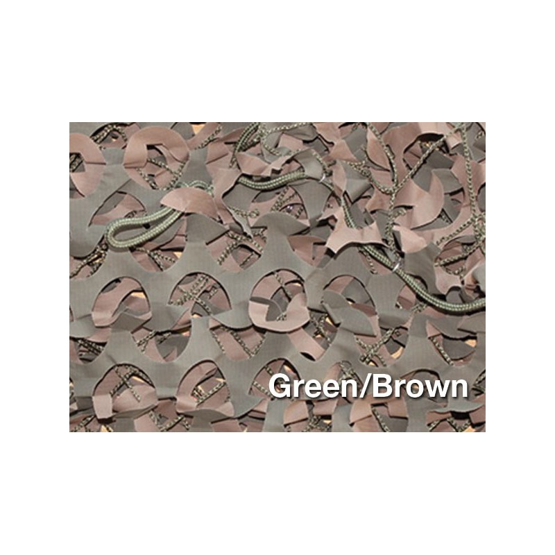 CAMOUFLAGE NET 6X3M 50% SHADE CAMOSYSTEMS PREMIUM/GREEN COLOUR