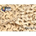 "CAMOUFLAGE NET 3X3M 50% SHADE ""FIRE RETARDANT PREMIUM CAMO SYSTEMS"" BROWN (9m2)"