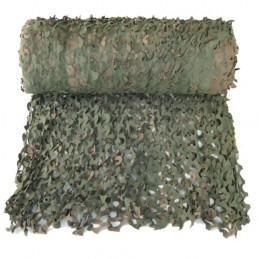 CAMOUFLAGE NET ON A ROLL 78X2,40M 50% SHADE CAMOSYSTEMS PREMIUM/GREEN COLOUR