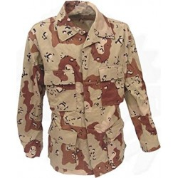 DESERT 6 COLORS BDU JACKET NEW