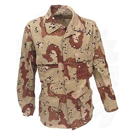 US ARMY BDU JACKET DESERT 6 COLORS NEW