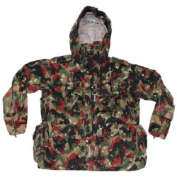 SWISS ARMY CAMO NEW PARKA