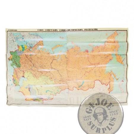 MAPES DE L´ UNIO SOVIETICA PER EDIFICIS GUBERNAMENTALS i ESCUOLES NOUS DATATS 1989