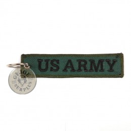 US ARMY KEYRING