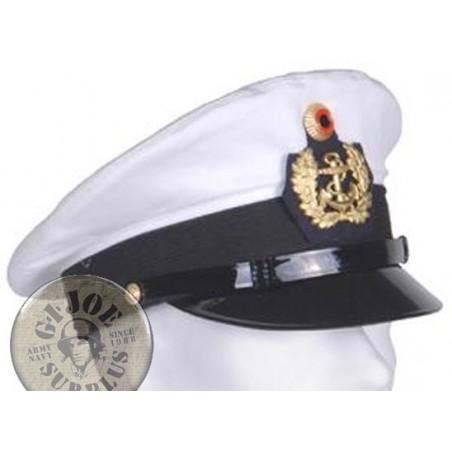 GERMAN NAVY OFFICERS WARRANT OFFICERS CAP USED SUPER GRADE 1