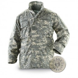CHAQUETA M65 ACU CAMO AT DIGITAL US ARMY NUEVAS