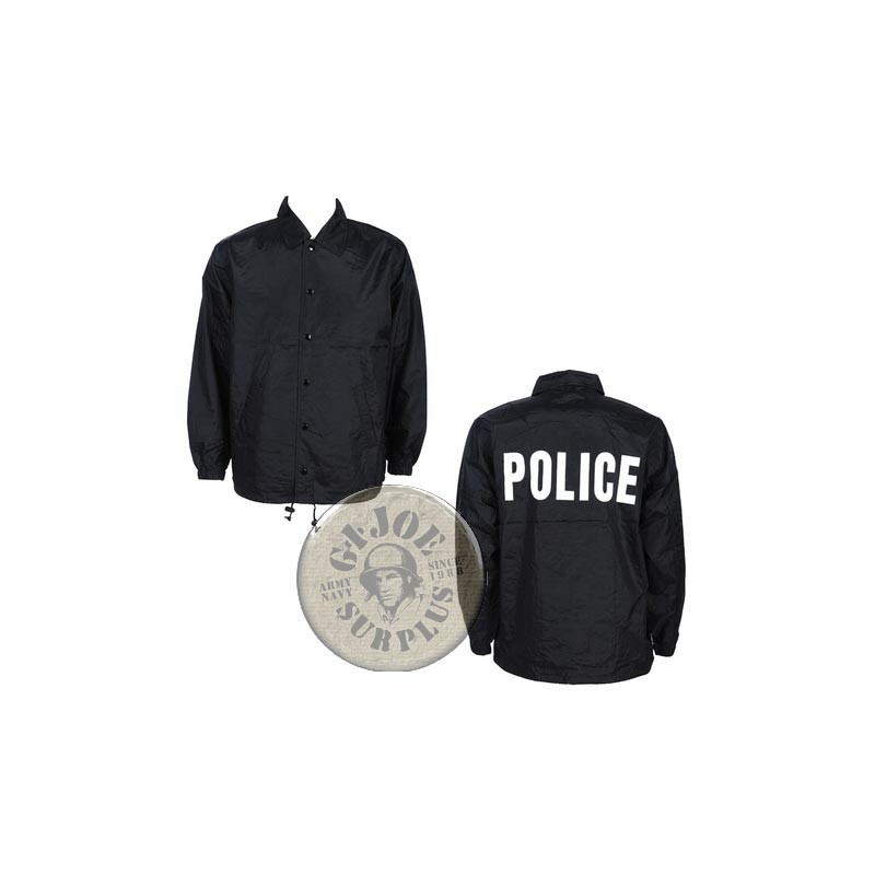 POLICE UNDERCOVER COACH JACKETS