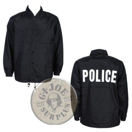 """UNDERCOVER COACH JACKET """"POLICE"""""""
