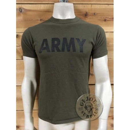 """RECYCLED AD PRINTED ARMY T/SHIRTS """"ARMY"""""""