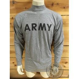 "CAMISETA M/LARGA ALGODON GRIS ""ARMY PT"""