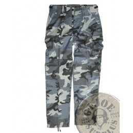 BDU TROUSERS DARK CAMO