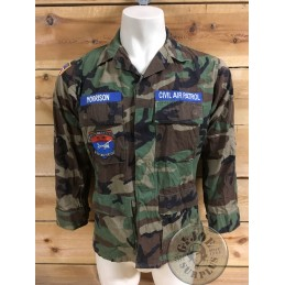 "CHAQUETILLA BDU WOODLAND ""US CIVIL AIR PATROL""/PIEZA UNICA"
