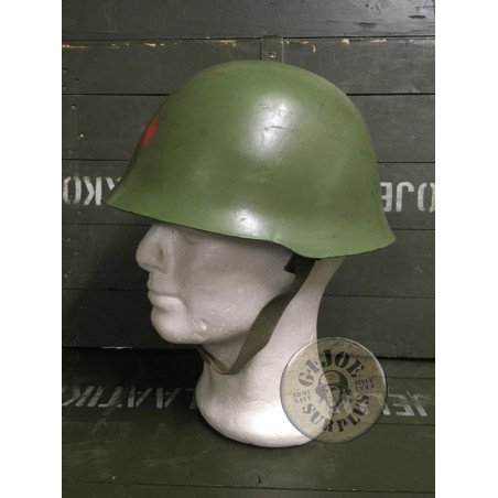 YUGOESLAVIAN ARMY NE44 HELMET USED PERFECT