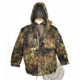 GERMAN CAMO PARKA NEW