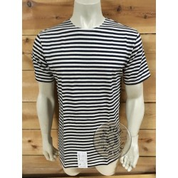 NAVY STRIPES T/SHIRT
