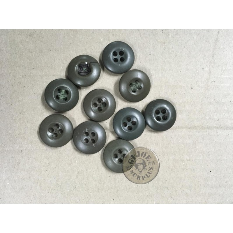 US ARMY PLASTIC BUTTONS