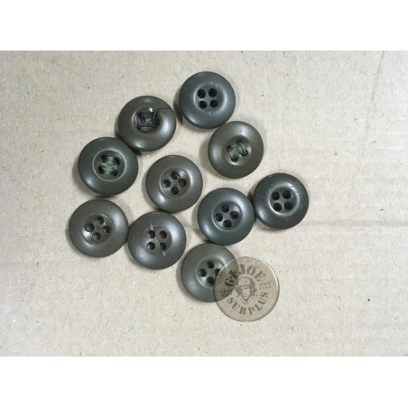 US ARMY PLASTIC BUTTONS X10