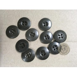 10 GERMAN PLASTIC BUTTONS