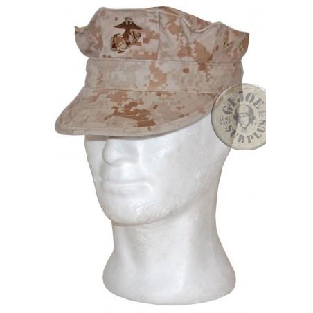 UNIFORME MCU USMC MARPAT DESERT/GORRAS US MARINE USADAS