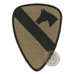 "PARCHE ""1ST CAVALRY DIVISION"" SUBDUED"
