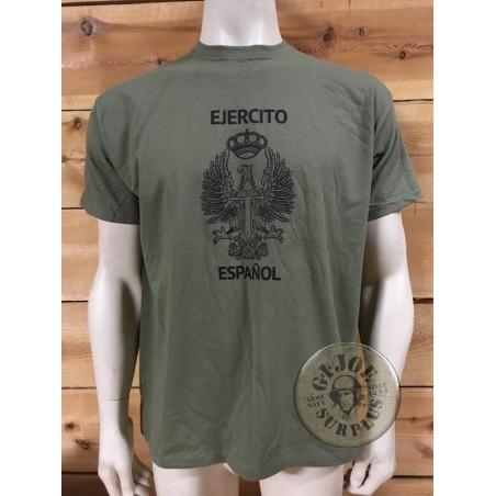 T/SHIRT SPANISH ARMY LOGO /EJERCITO DE TIERRA