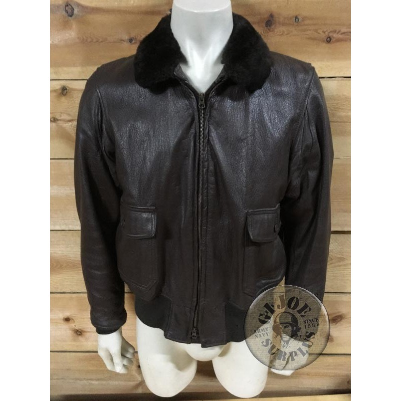 De Vendida chaqueta Unica Us Cuero 1971pieza G1 Navy Piloto fw5Owa