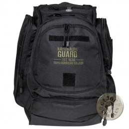 US NATIONAL GUARD 40L RUCKSACK BLACK COLOUR/NEW CONDITION