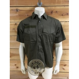 AUSTRIAN ARMY COMBATSHORT SLEEVE SHIRT/AS NEW CONDITION