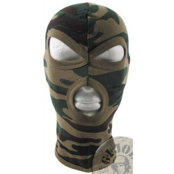 "3 HOLE BALACLAVA ""AGRESSIVE"" 100% COTTON"