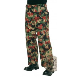 SWISS ARMY CAMO TROUSERS