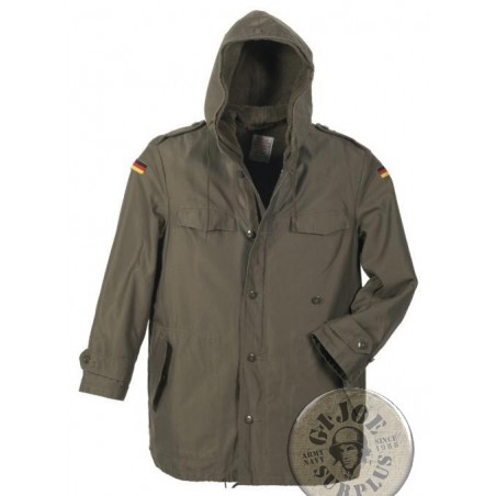 GERMAN ARMY GREEN PARKA USED CONDITION SUPER GRADE 1
