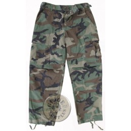WOODLAND BDU TROUSERS