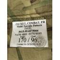 """CHAQUETILLA EJERCITO BRITANICO """"RAF FIRE RETARDANT"""" CAMO MTP NUEVAS"""