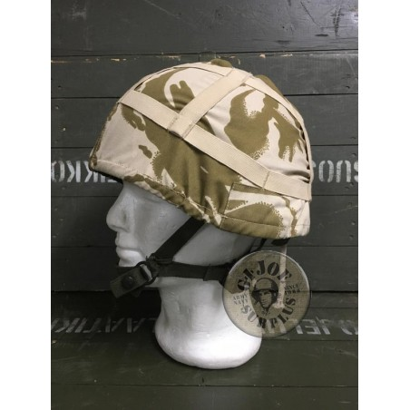 BRITISH ARMY DESERT DPM MK6 HELMET COVER NEW