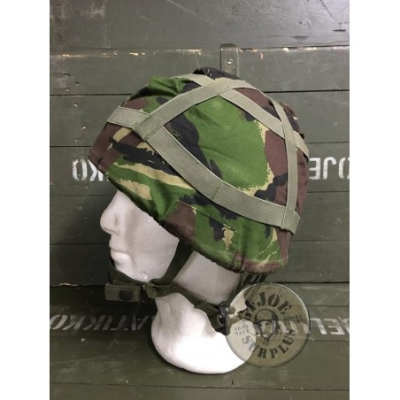 BRITISH ARMY KEVLAR HELMET MK6 COVER DPM USED PERFECT CONDITION