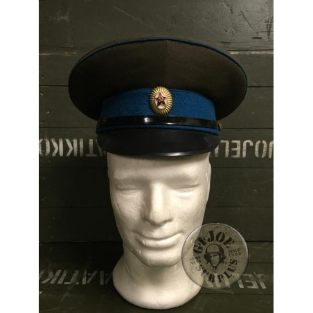 SOVIET UNION AIR FORCE OFFICERS CAP /OFFICERS USED CONDITION
