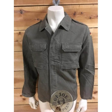 GERMAN ARMY MOLESKIN JACKET USED /SECOND MODEL