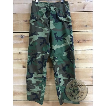 US ARMY ECWCS GORETEX WOODLAND CAMO NEW TROUSERS